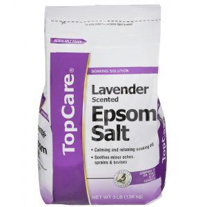 Epsom Salt, Lavender Scented 3 Lb