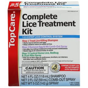 Complete Lice Treatment Kit 3 Step System