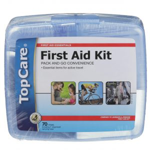 First Aid Kit with Carrying Case 70 Pc
