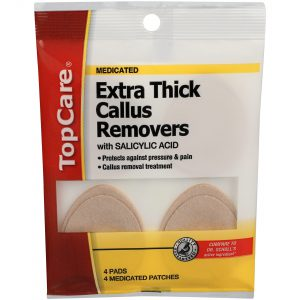 Extra Thick Medicated Callus Removers 4 Ct