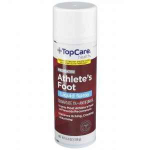 Medicated Athlete's Food Liquid Spray 5.3 Oz