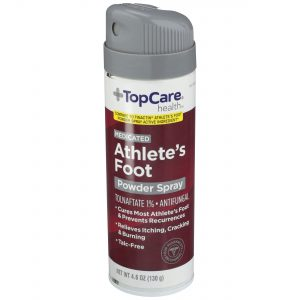 Medicated Athlete's Food Powder Spray 4.6 Oz