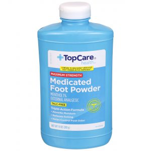 Max Strength Medicated Foot Powder Talc Free 10 Oz