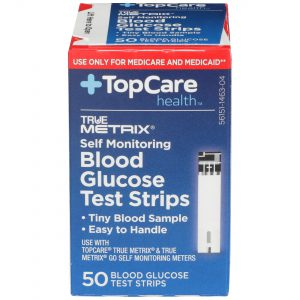 Blood Glucose Test Strips Self Monitoring For Medicare Medicaid Only 50 Ct