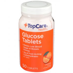 Glucose Tablet Orange 50 Ct