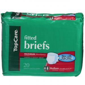 Unisex Briefs Medium 20 Ct