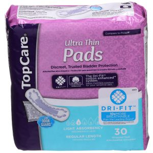 Bladder Protection Pads Ultra Thin Light Individually Wrapped