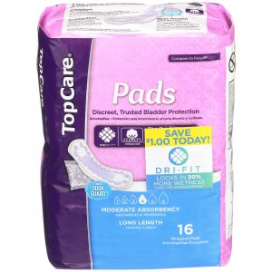 Bladder Protection Pads Moderate Long