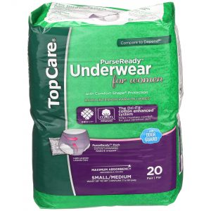 Underwear for Women Max Absorbency S/M 20 Ct