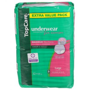 Underwear for Women Max Absorbency L 32 Ct