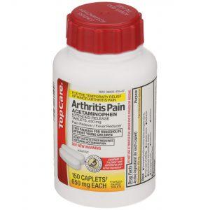 8 Hr Arthritis Pain Relief Caplet 150 Ct Easy Open