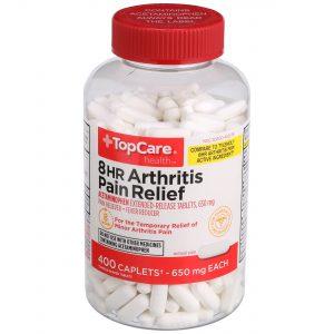 8 Hr Arthritis Pain Relief Caplet 400 Ct