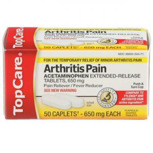 8 Hr Arthritis Pain Relief Caplet 50 Ct