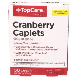 Cranberry Caplets 50 Ct