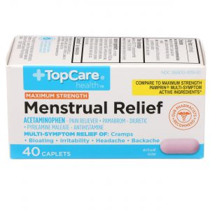 Max Strength Menstrual Relief Caplet 40 Ct