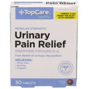 Urinary Pain Relief Tablet 30 Ct