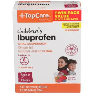 Children's Ibuprofen 8Hr Liquid Berry 8 Oz