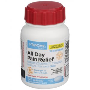 All Day Pain Relief Caplet 200 Ct Easy Open