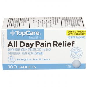 All Day Pain Relief Tablet 100 Ct