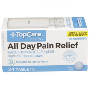 All Day Pain Relief Tablet 24 Ct