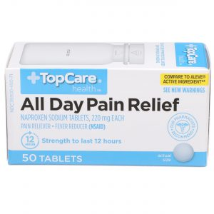 All Day Pain Relief Tablet 50 Ct