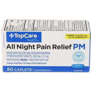 All Night Pain Relief PM Caplet 80 Ct