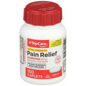 Extra Strength Pain Relief Caplet 150 Ct