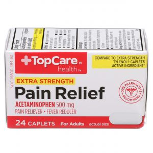 Extra Strength Pain Relief Caplet 24 Ct