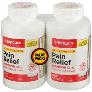 Extra Strength Pain Relief 2 Bottles / 1000 Count