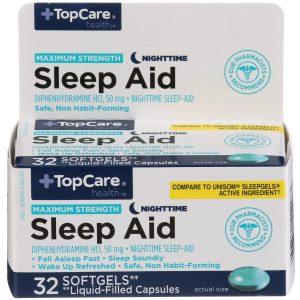 Max Strength Sleep Aid Softgel 32 Ct