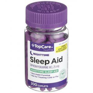 Sleep Aid Caplet 200 Ct