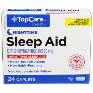 Sleep Aid Caplet 24 Ct