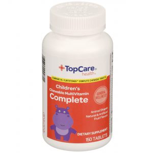 Children's Complete MultiVitamin Chewable Tablet Fruit Flavors 150 Ct