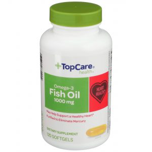 Omega-3 Fish Oil Softgel 120 Ct