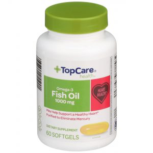 Omega-3 Fish Oil Softgel 60 Ct