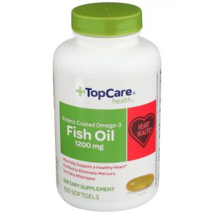 Omega-3 Fish Oil Enteric Coated Softgel 100 Ct