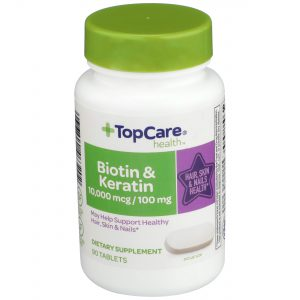 Biotin & Keratin for Hair, Skin & Nails Tablet 90 Ct