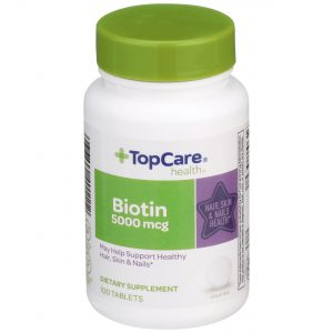 Biotine for Hair, Skin & Nails Tablet 100 Ct