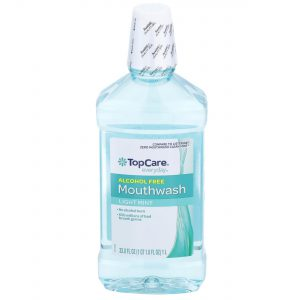Mouthwash Alcohol Free, Light Mint