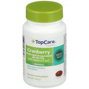 Cranberry with Vitamins C & E Softgel 120 Ct