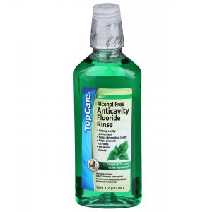 Mouthwash Alcohol Free Anticavity Fluoride Mouth Rinse, Mint