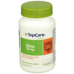 Zinc Caplet 100 Ct