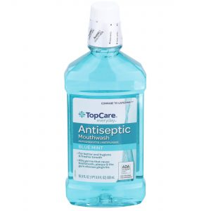 Mouthwash Antiseptic, Blue Mint