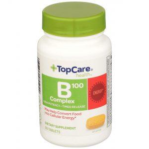 Vitamin B100 Complex Tablet 50 Ct