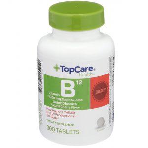 Vitamin B12 Quick Dissolve Tablet Cherry 300 Ct