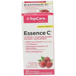 Essence C Vitamin C Powder Raspberry 30 Ct