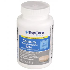 Century Men's Complete 50+ Multivitamin Tablet 100 Ct