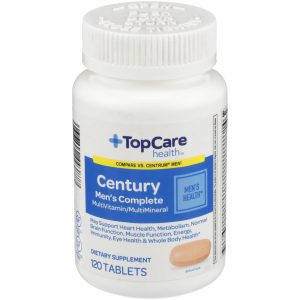 Century Men's Complete MultiVitamin Tablet 120 Ct