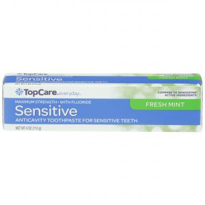 Toothpaste Sensitive Max Strength, Fresh Mint