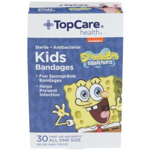 Kids Bandages SpongeBob SquarePants 30 Ct